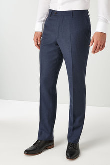 Next Signature British Wool Suit: Trousers-Regular Fit