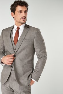 Next Signature British Wool Suit: Jacket-Slim Fit - 227874