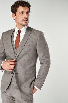 Next Signature British Wool Suit: Jacket-Slim Fit - 227874