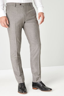 Next Signature British Wool Suit: Trousers-Slim Fit