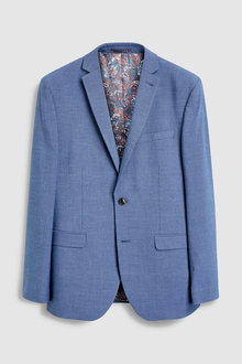 Next Textured Suit: Jacket-Slim Fit