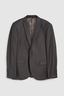 Next Signature British Wool Suit: Jacket-Tailored Fit