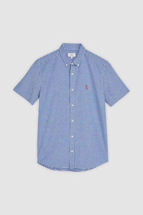 Next Gingham Short Sleeve Shirt