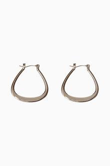 Next Triangle Hoop Earrings