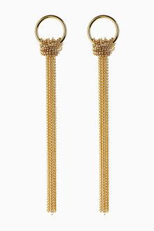 Next Chain Tassel Earrings