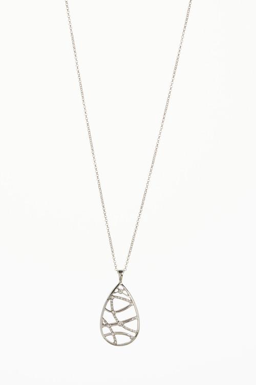 Next Stone Effect Pendant Necklace