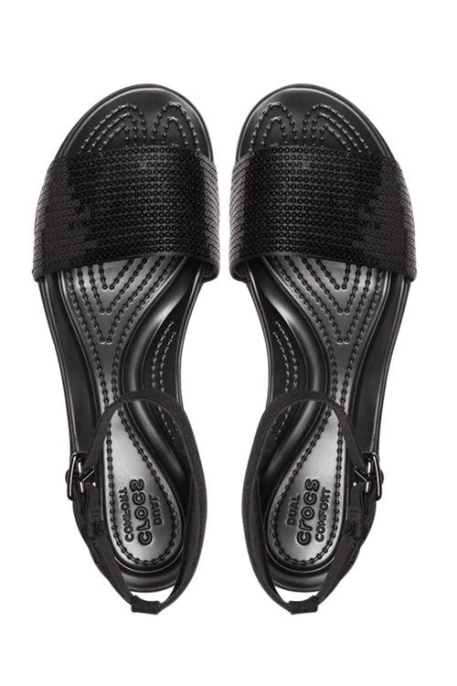 Crocs LeighAnn Sequin Wedge