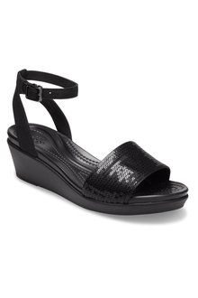 Crocs LeighAnn Sequin Wedge