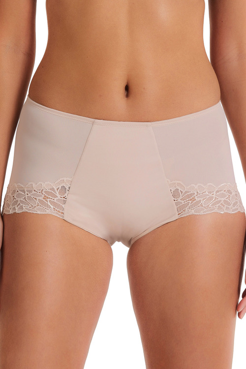 Plus Size - Perfects Lace & Micro Control Front Full Brief