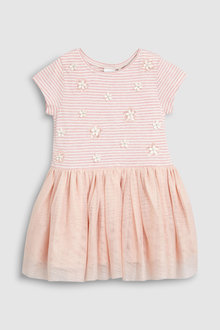 Next Mesh Skirt Dress (3mths-7yrs)