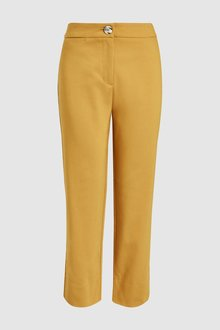 Next Straight Leg Cropped Trousers - 228272