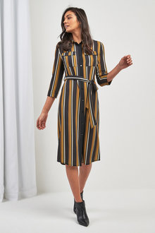 Next Belted Shirt Dress
