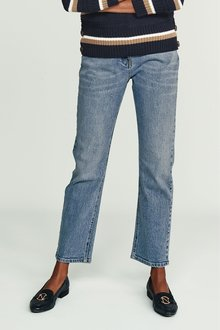 Next High Waist Straight Ankle Jeans - 228319