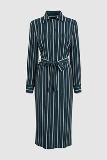 Next Stripe Shirt Dress