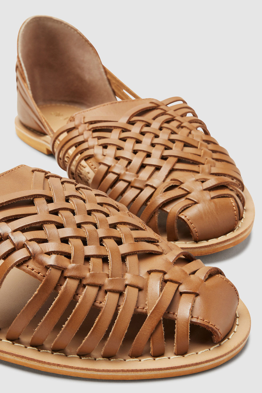 65a3a57df Next Woven Leather Huarache Shoe Online