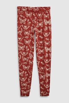 Next Butterfly Print Cotton Blend Pyjamas
