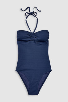 Next Textured Bandeau Swimsuit