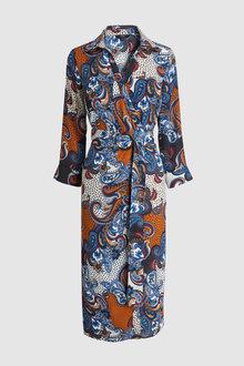 Next Print Shirt Dress-Tall