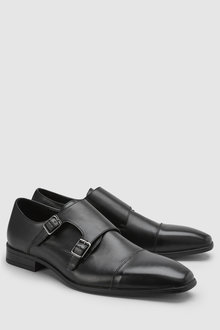 Next Double Strap Monk Shoe - 228417