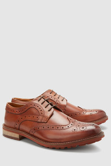 Next Cleat Sole Brogue - 228420