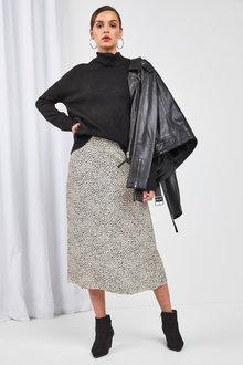 Next Spot Print Midi Skirt