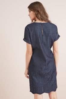 Next Cutwork Embroidered Dress-Tall