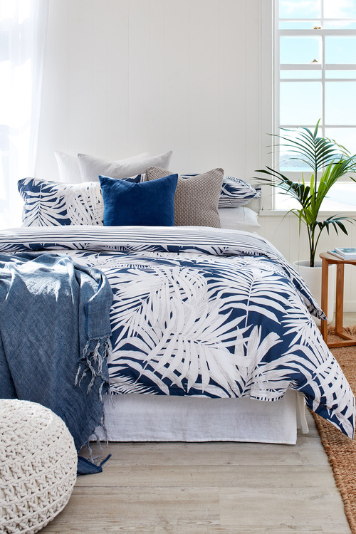 Palm Duvet Cover Set