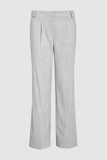 Next Tailored Wide Leg Trousers-Petite