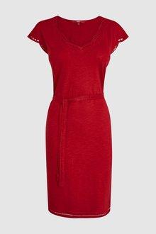 Next Tie Waist Dress-Petite