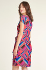 Heine Drape Detail Print Dress
