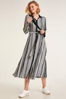 Heine Striped Shirt Dress - 228540