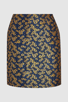 Next Floral Jacquard Skirt