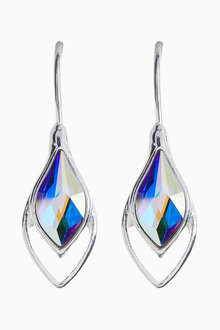 Next Drop Earrings With Swarovski Crystals