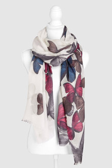 Next Butterfly Print Scarf