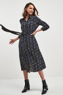 Next Print Shirt Dress