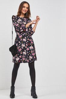 Next Floral Print Dress