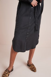 Next Tencel Shirt Dress