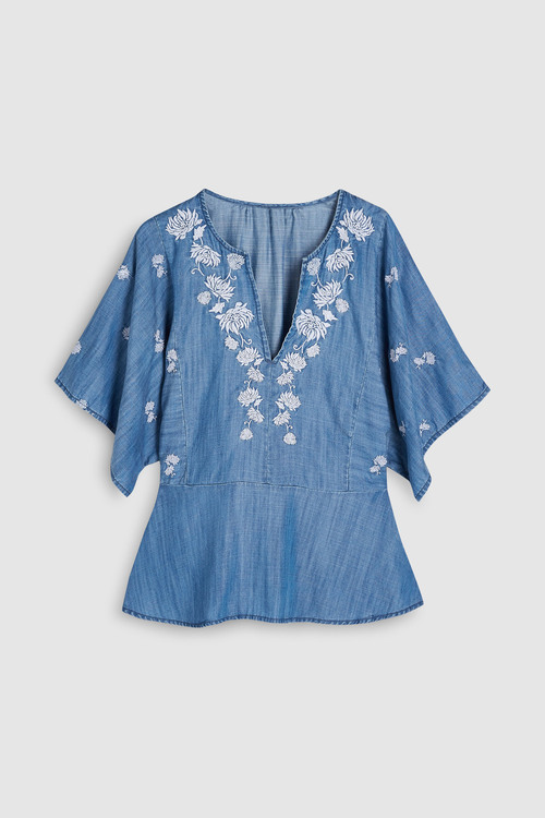 Next Embroidered Top-Tall