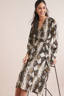 Next Belted Midi Dress