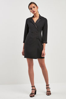 Next Tuxedo Blazer Dress