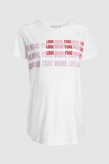 Next 'More Love' Slogan Maternity Tee