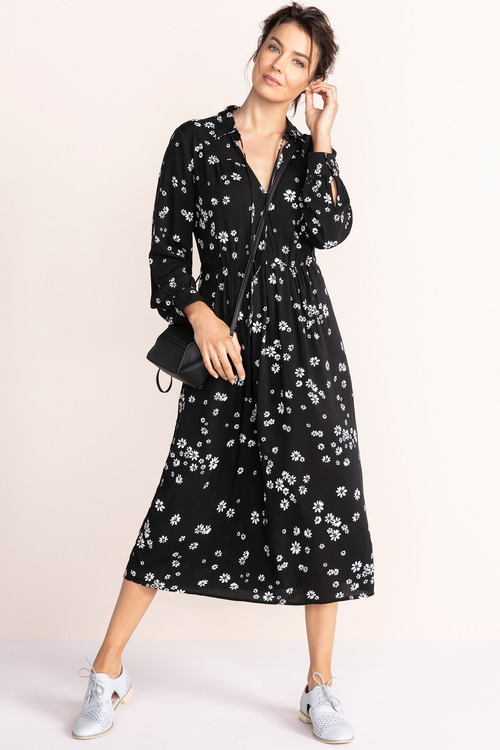 Capture Long Sleeve Midi Dress
