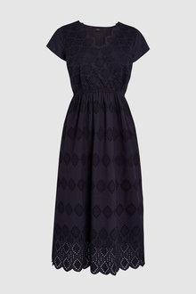 Next Broderie Dress - 228660