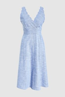 Next Chambray Midi Dress