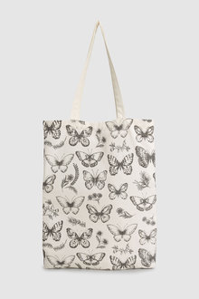 Next Butterfly Print Shopper