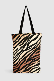Next Tiger Print Shopper