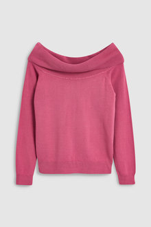 Next Cosy Bardot Sweater