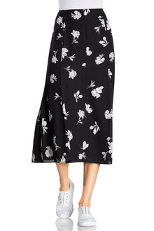 Capture Panelled Midi Skirt - 228690