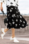 Capture Panelled Midi Skirt
