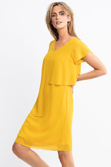 Capture Layered Shift Dress - 228691